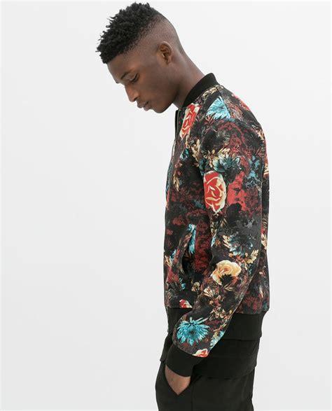 Flow Bomper Jaket zara flower bomber jacket my wardrobe s wish list courtesy