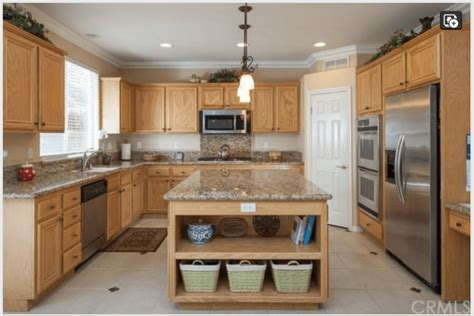 before and after kitchen remodel in rancho santa margarita