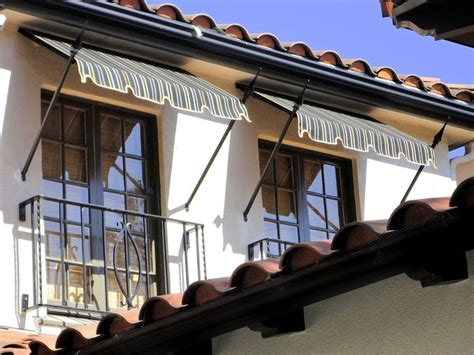spear awnings spear awnings mediterranean exterior los angeles