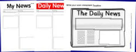 docs magazine template printable newspaper templates from sparklebox