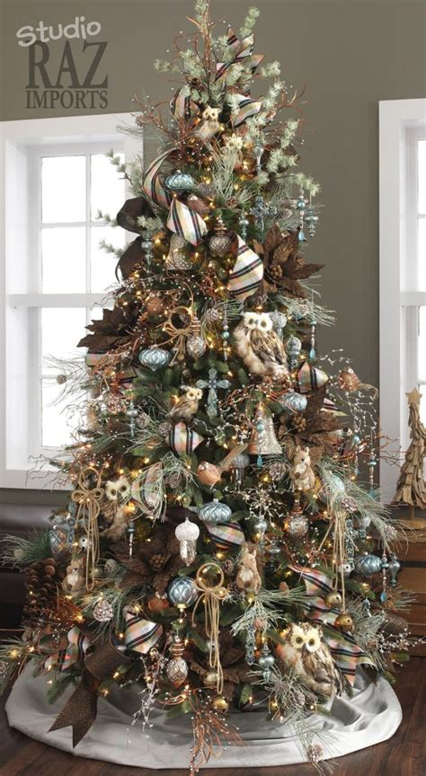 tree decorations 60 gorgeously decorated christmas trees from raz imports
