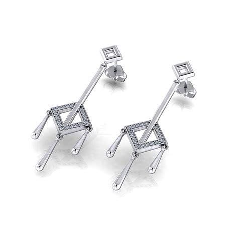 Square Tassel square tassel earrings jewelry designs