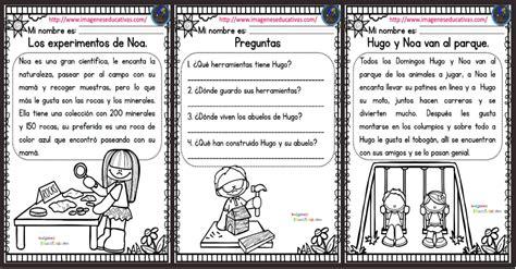 imagenes educativas lectura lecturas comprensivas para primaria nuevas y originales