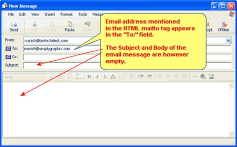 Format Html Mailto | html mailto attribute and configuring the mailto in html
