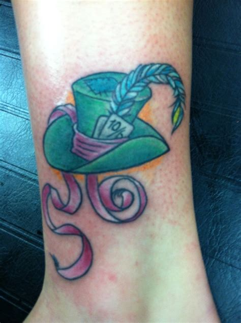mad hatter tattoo my mad hatter don t it be original