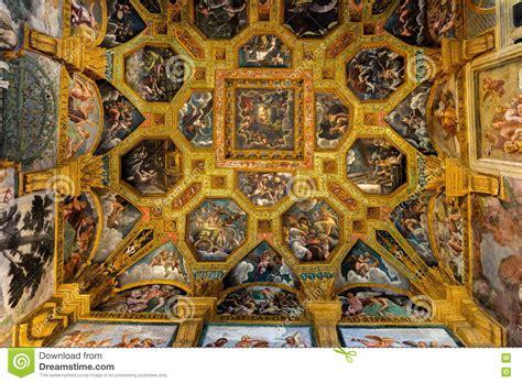 affreschi soffitto affreschi soffitto di palazzo te a mantova fotografia