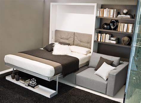 Schlafzimmer Chaises by Swing Wall Bed Sofa With Chaise Save Space