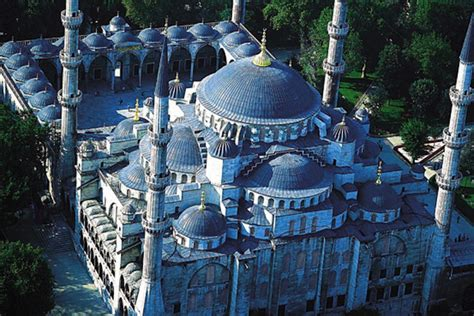 Blue Interior Design The Five Marvels Of Islamic Architecture