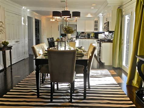 Monochrome Elegance: 30 Black and White Striped Rugs
