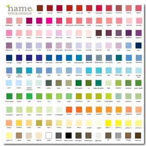 comfort colors color swatch limiting your color palette oh my handmade