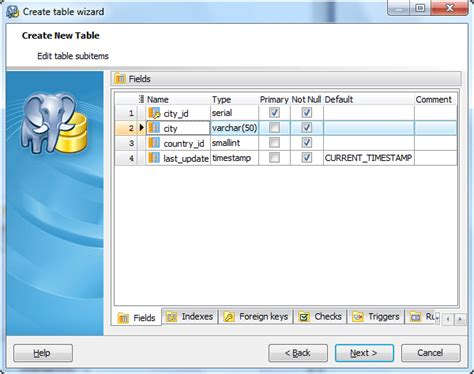 Create Table Postgres by Postgresql Gui Admin Tool Postgres Manager For Windows