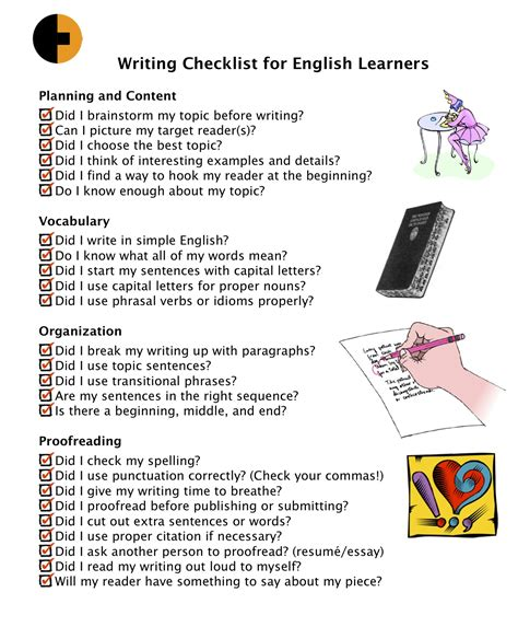 essay format checklist the tried and tested essay writing checklist
