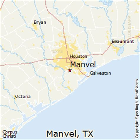 manvel texas map best places to live in manvel texas