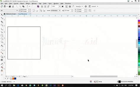 pattern fill pada coreldraw tutorial coreldraw dasar cara memberi warna pada objek