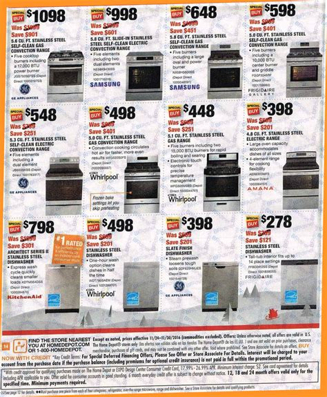 home depot s black friday 2016 sale ad scan deals