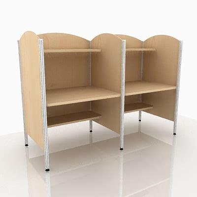 library desk 3d model library desk