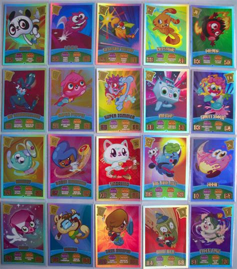 Card Monsters Gift Code - 198 217 any moshi monsters mash up series 3 code breakers rainbow 100 foil card ebay