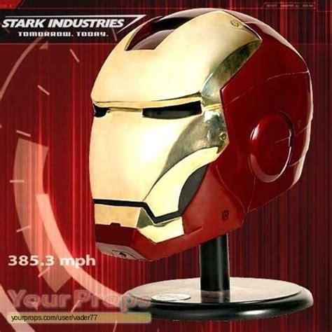 iron man iron man mark iii helmet lifesize sideshow