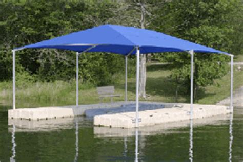floating boat dock canopy roof and canopy systems shade protection for ez docks