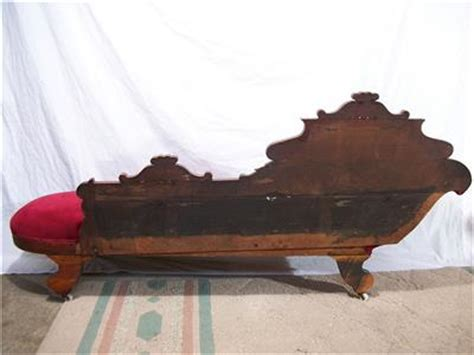 antique fainting couch value antique 1800s elegant eastlake fainting couch chaise