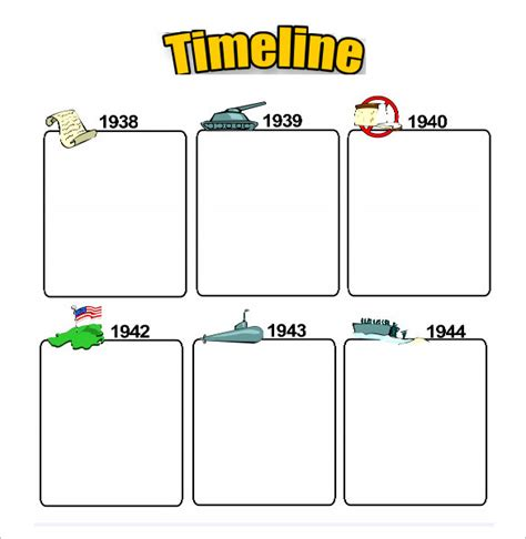 47 Blank Timeline Templates Psd Doc Pdf Free Premium Templates Timeline Generator Printable