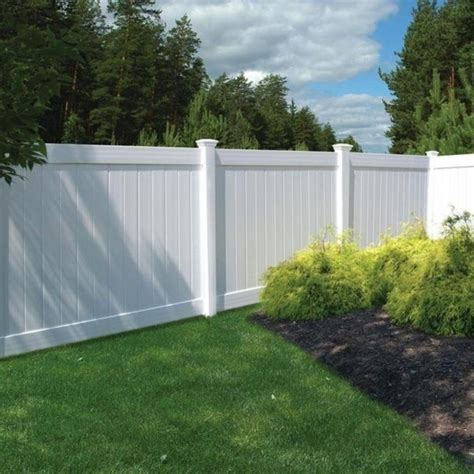 home depot vinyl fence panels fence ideas