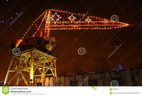 does 7 11 sell christmas lights crane with lights stock photo image 3959712
