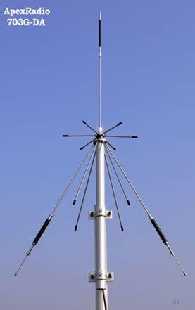apex radio 703g da discone antenna