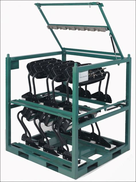 Racks Are Us Custom Steel Shipping Racks Eliminate Damage And Take Out