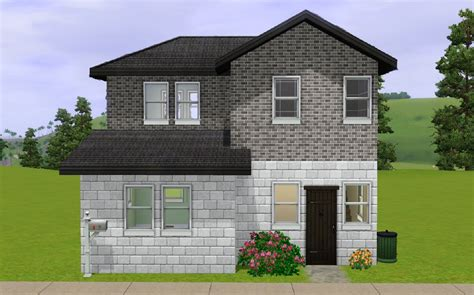 Sims 3 Starter House Plans Mod The Sims The Budget Starter House
