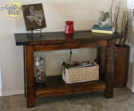 Entry Way Table by 8 Gorgeous Entryway Tables You Can Make On A Budget