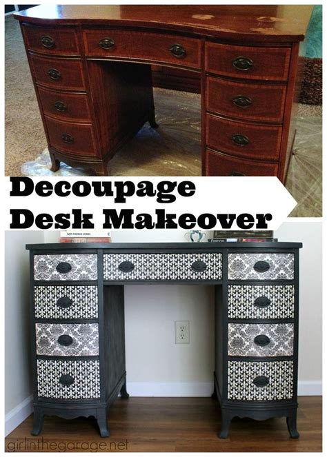 Decoupage A Desk - 17 best ideas about decoupage desk on