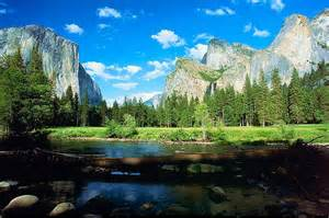 yosemite landscape north america usa california