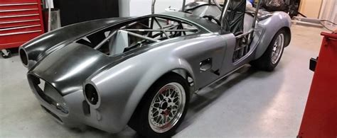 Tesla Replica Tesla Powered Shelby Cobra Replica To Hit The Race Tracks