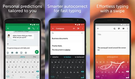 swipe keyboards for android 5 best android keyboard apps to replace your default keyboard