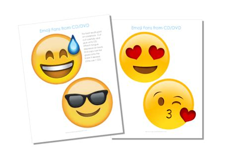 printable emojis faces free emoji fan printables our peaceful planet