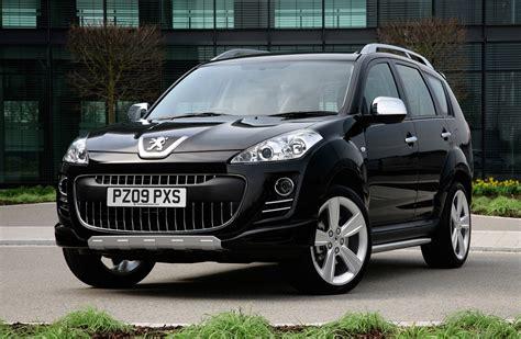 peugeot 4x4 cars peugeot 4007 hatchback review 2007 2012 parkers