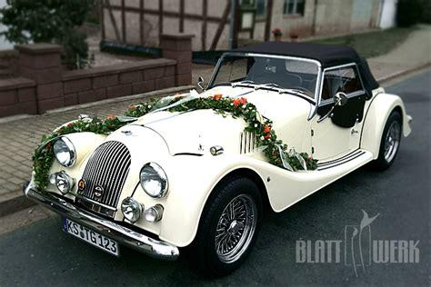 Hochzeit Auto by Blattwerk Floristik Blumen Und Dekoration Berlingerode