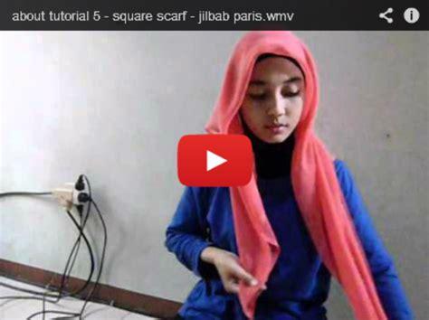 video tutorial berhijab pashmina video tutorial berhijab 1