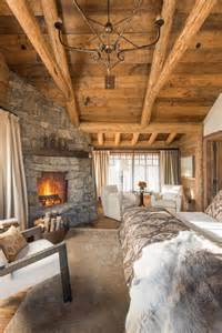 Rustic Log Home Decor by Rustic Bedroom Design Ideas Which Radiate Comfort
