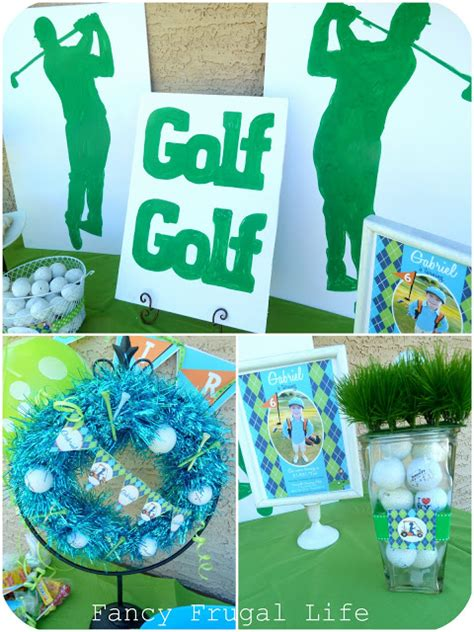golf themed decorating ideas golf theme birthday golf decorations and ideas