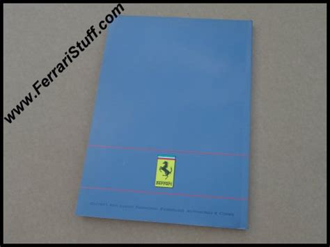 Ferrari Owners Manuals