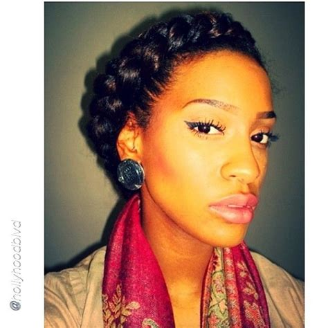 halo braids for black women on pinterest halo braids for black women newhairstylesformen2014 com