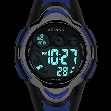 azland waterproof swimming led digital sports watches for