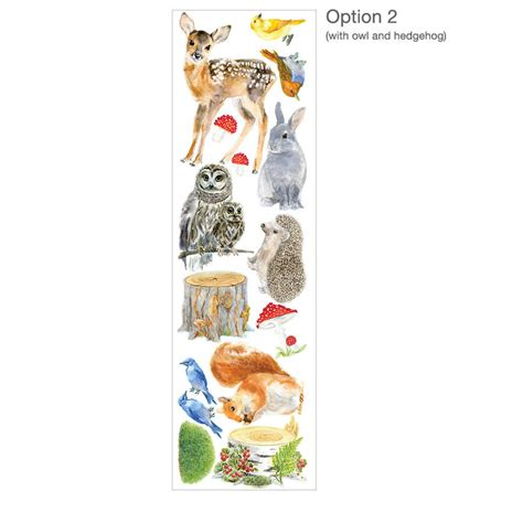 Forest Wall Stickers forest animals wall stickers woodland animals set by