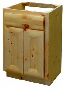 knotty pine half log vanity log home vanity the log