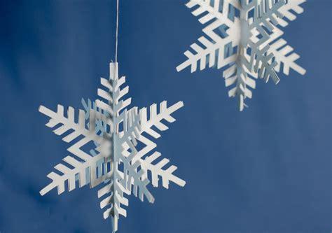 paper snowflake ornaments