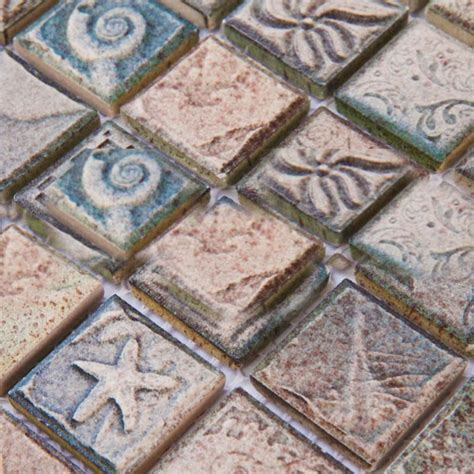 copper glass and porcelain square mosaic tile designs wholesale porcelain tile mosaic grey square ocean
