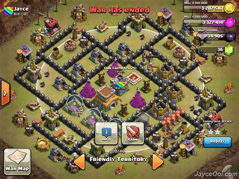 ultimate th8 layout best clash of clans th8 anti hog unlurable cc war trophy
