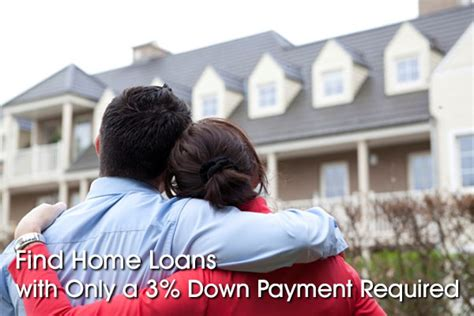 loan for down payment on house fannie mae and freddie mac announce 3 down payment loans